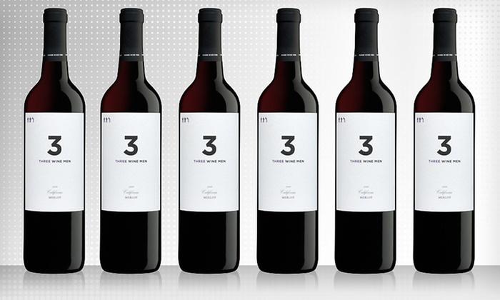 3 Wine Men 2009 Merlot Package: $49 for Six Bottles of 3 Wine Men 2009 Merlot with Shipping Included ($113.87 Total Value)