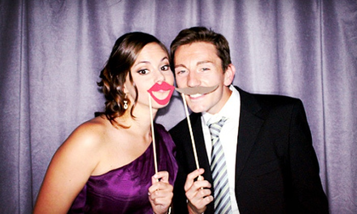 Flash Photo Booth - Brooklawn: Three- or Four-Hour Photo-Booth Rental from Flash Photo Booth (Up to 60% Off)