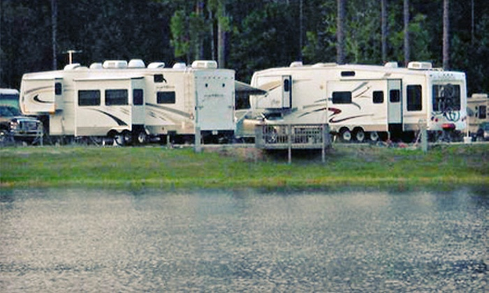 Flamingo Lake RV Resort - Forest Trails: One, Three, or Five Nights of RV Camping for Two at Flamingo Lake RV Resort (Up to 54% Off)