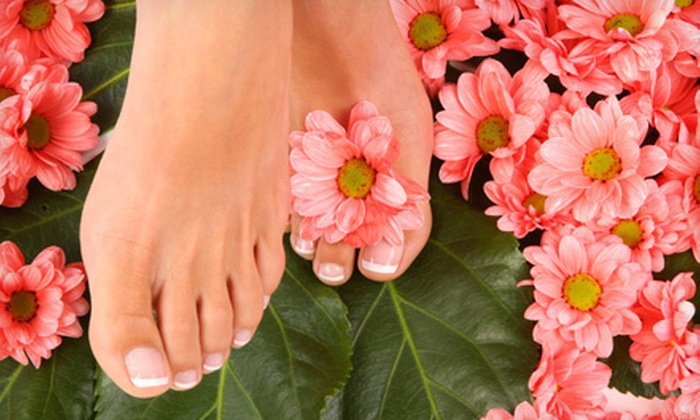 Modern Nails & Spa - Hewitt Area: Basic or Spa Mani-Pedi at Modern Nails & Spa (Up to 55% Off)