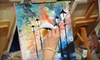 Art by the Glazz - Highland Park: 2.5-Hour Painting Class with Wine for One or Two Adults on October 26 or 27 from Art by the Glazz (Up to 58% Off)