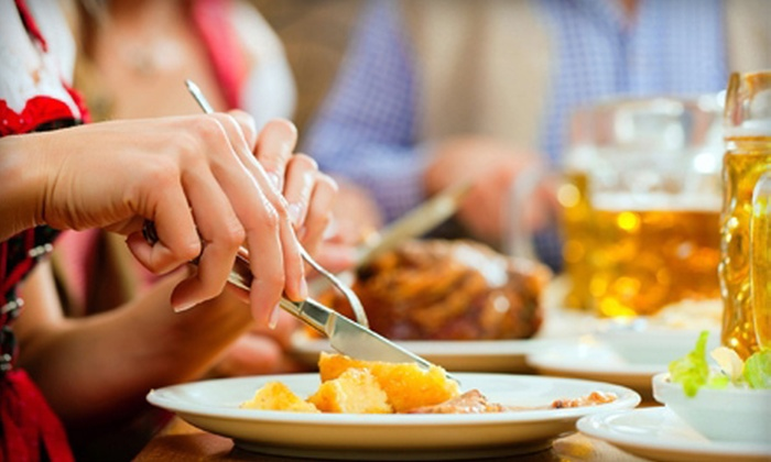 Kreimer's Bier Haus - Whitewater: German Meal for Two, Four, or Six at Kreimer's Bier Haus (Up to 58% Off)