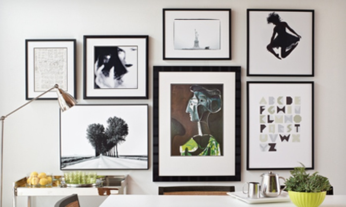 Art.com: Framed Art, Prints, and Canvases from Art.com (Half Off). Two Options Available.