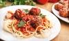 DNC - Italian Maid Cafe - Richmond: $15 Worth of Italian Fare