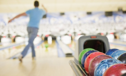 Bowling for Up to 6 with Optional Shoe Rental, or Bowling Suite for Up to 25 at Pinheads (Up to 69% Off)