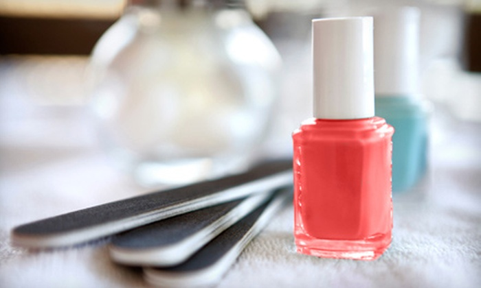 Sarah's Spa Sensations - Bridgeville: One or Two Regular or Gel Mani-Pedis at Sarah's Spa Sensations (Up to 54% Off)