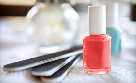 One or Two Regular or Gel Mani-Pedis at Sarah's Spa Sensations (Up to 54% Off)