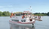 90 Minuten Schiffsrundfahrt auf den Xantener Seen für Zwei auf dem Seestern Fahrgastschiff (bis zu 34% sparen*)