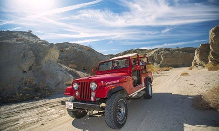 $129 for a San Andreas Fault Jeep Eco-Tour for Two from Desert Adventures ($270 Value)