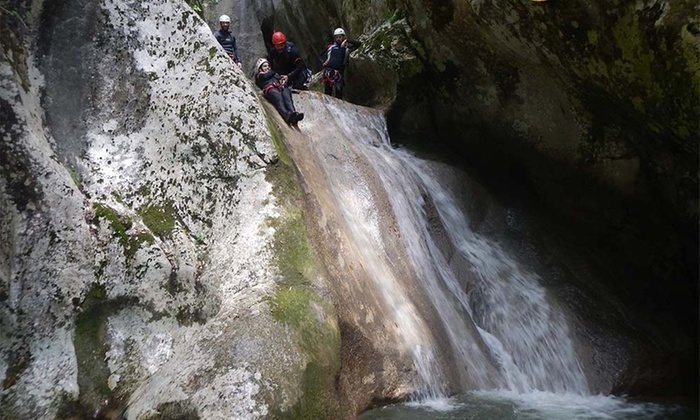 Canyoning: 4 ore, una o 2 persone Natura Avventura