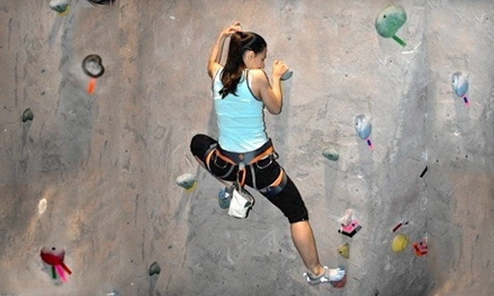 Texas Rock Gym - Spring Branch Central: Rock-Climbing Package for One, Two, or Four with Orientation and Equipment Rental at Texas Rock Gym (Up to 63% Off)