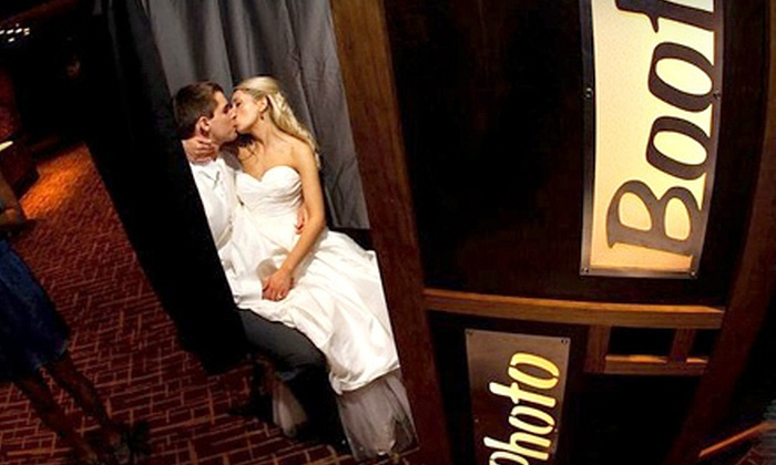 Wedding Photobooth Rental - Milwaukee: $450 for a Three-Hour Photo-Booth Rental from Wedding Photobooth Rental ($1,000 Value)