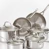 Guy Fieri Stainless-Steel Cookware Set (10-Piece)