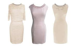 Sd Collection Special Occasion Dresses With Jeweled Necklines