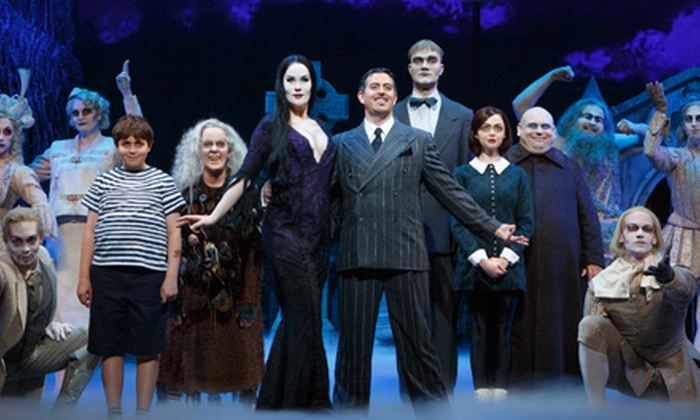 """""""The Addams Family"""" - Joe Louis Arena: """"The Addams Family"""" Musical at Fox Theatre on June 14–15 (Up to 48% Off)"""