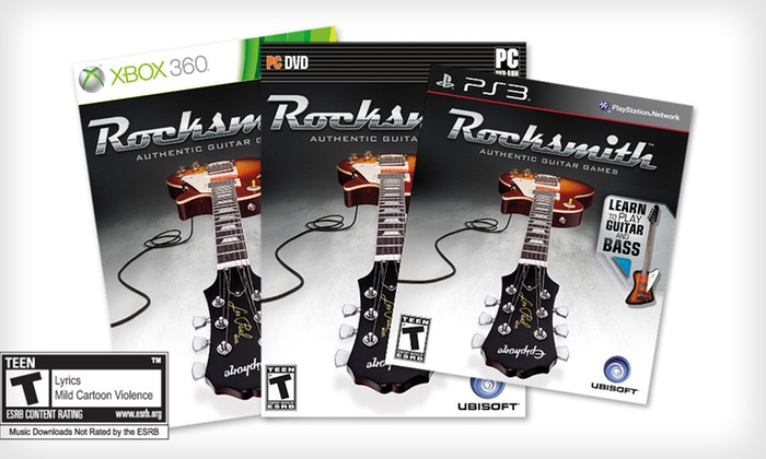 """Rocksmith Guitar and Bass"": $39 for ""Rocksmith Guitar and Bass"" for PC, PlayStation 3, or Xbox 360 ($59.99 List Price). Free Shipping and Returns."