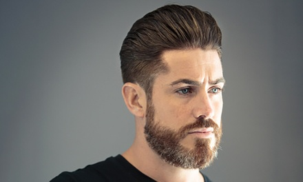 Damp Cut and Finish or Wash, Cut and Finish with Beard Trim at The Terrace Barbers