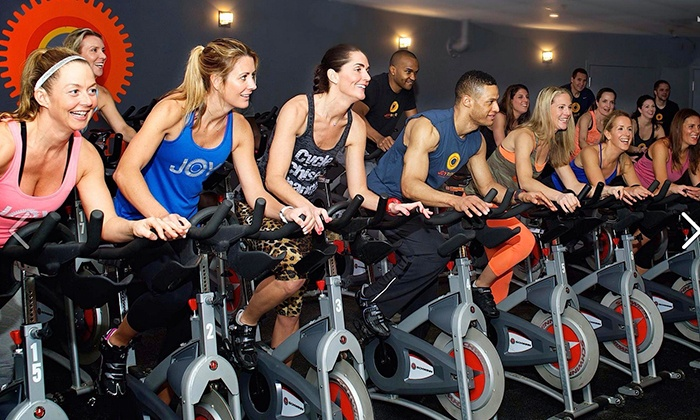 JoyRide Cycling Studio - Multiple Locations: Five or Ten Indoor Cycling Classes at JoyRide Cycling Studio (Up to 63% Off)