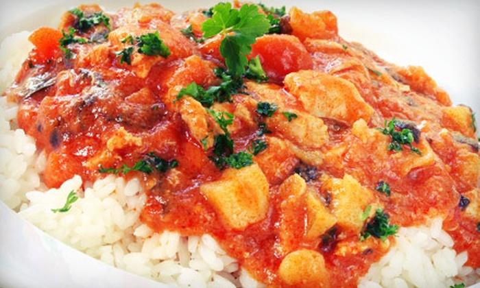 Everest Cafe - Berkeley Hills: Indian Dinner for Two or $12 for $25 Worth of Lunch at Everest Café