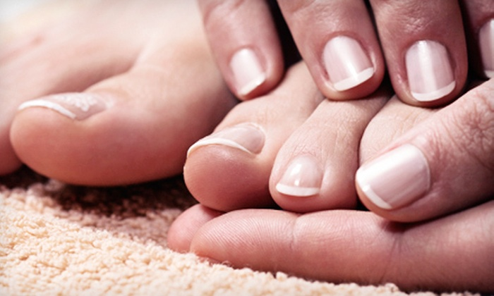 Aesthetic Nurse Specialists - Eiber: One or Three Toenail-Fungus Treatments for One or Two Feet at Aesthetic Nurse Specialists (Up to 80% Off)