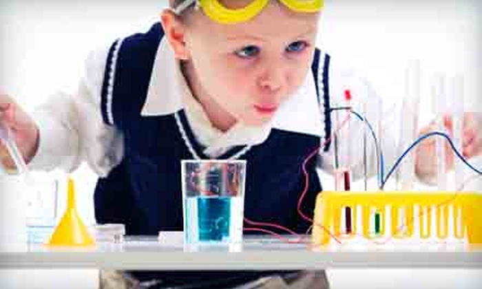 Destination Science - Multiple Locations: Five-Day Kids' Science Camp from Destination Science (Up to 54% Off). 15 Options Available.