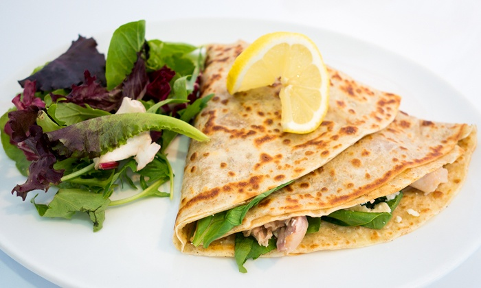 Cafe Gypsy Rose - Kitsilano: C$12 for Two Groupons, Each Good for $10 Worth of Crêpes at Cafe Gypsy Rose (C$20 Total Value)