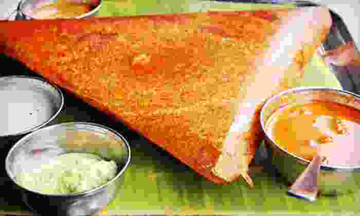 Dosa Hut Chat House - Dosa Hut Chat House: Indian Food at Dosa Hut Chat House (Up to 52% Off). Four Options Available.