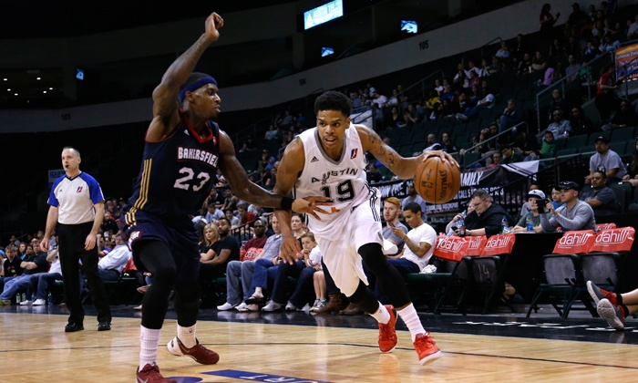 Austin Spurs - AT&T Center: Austin Spurs Basketball Game Against the Santa Cruz Warriors at AT&T Center on December 29 at 7:30 p.m.