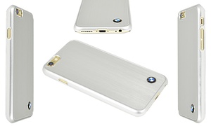 "Bmw Brushed Aluminum Hard Case For Apple Iphone 6 With 4.7"" Display"