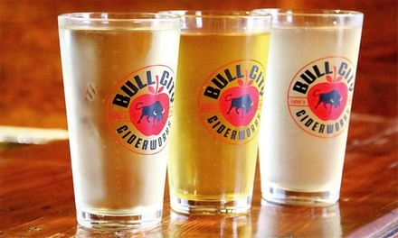 Pints and a Tour for Two or Four at Bull City Ciderworks (40% Off)