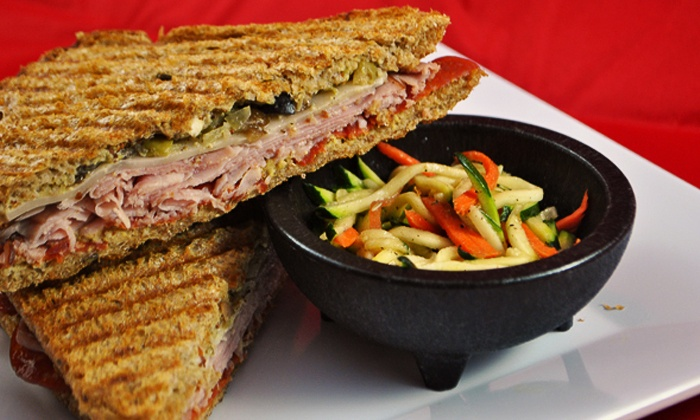 Paninis Plus - Far North Dallas: $8 for $15 Worth of Sandwiches, Wraps, and Salads at Paninis Plus