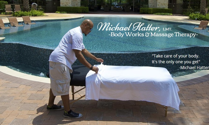 Michael Hatter, LMT. - Michael Hatter, LMT.: Up to 47% Off Hot stone Swedish and Clinical massage at Michael Hatter, LMT.
