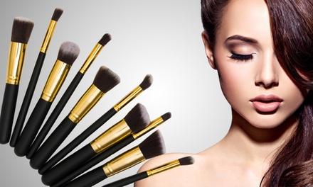 1 o 2 sets de 10 brochas de maquillaje