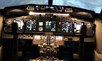 30-Minute or One-Hour Simulator Flight Experience at Flightdeck Simulator (Up to 34% Off)