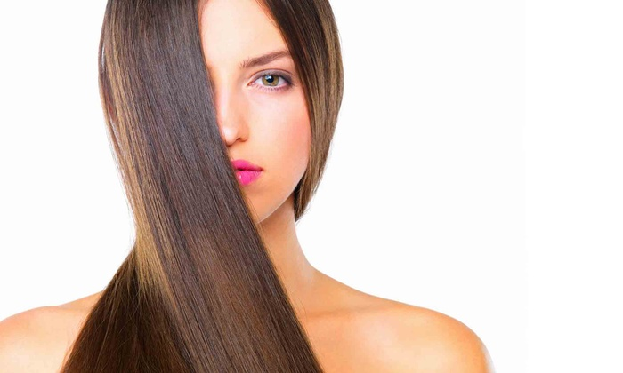 Suhad Alyas at Salon De Marcus - Downtown San Diego: $84 for a Keratin Treatment from Suhad Alyas at Salon De Marcus ($250 Value)