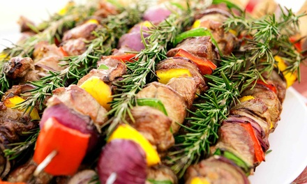 Mediterranean Cuisine for Lunch or Dinner at Granada Restaurant (Up to 50% Off)