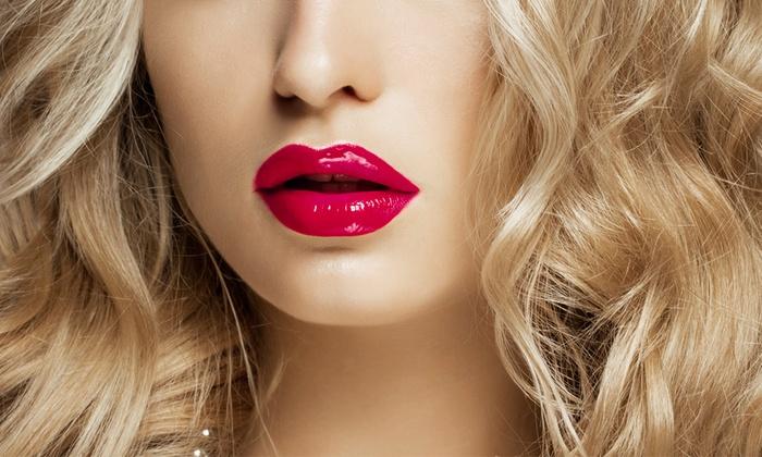 Thread&Cutz Barber&Beauty Salon - Van Nuys: Permanent Makeup for Eyeliner, Lip Liner, Full Lip, or Brows at Thread&Cutz Barber&Beauty Salon (Up to 50% Off)
