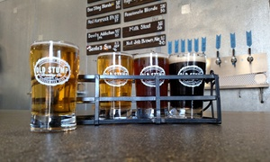 Old Stump Brewing Company: Beer Tasting for Two, Four, or Six at Old Stump Brewing Company (Up to 38% Off)