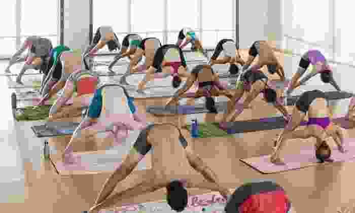 Bikram Yoga at Brick Canvas - Lehi: $39 for One Month of Unlimited Classes at Bikram Yoga at Brick Canvas ($150 Value)