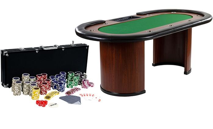 Pokerset oder Pokertisch in der Farbe nach Wahl inkl. Versand (bis zu 30% sparen*)