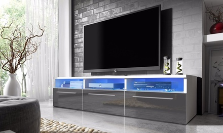 meuble tv led lavello groupon. Black Bedroom Furniture Sets. Home Design Ideas