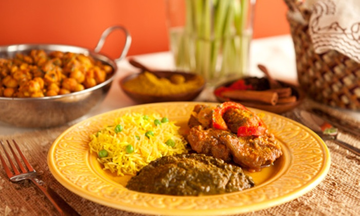India Gate - Forest: Indian Cuisine for Lunch or Dinner at India Gate (Half Off)