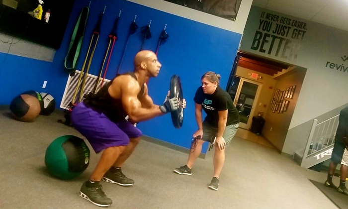 LB Training - Tampa Heights: 10 Boot-Camp Classes at LB Training (65% Off)