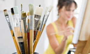 The Art Experience: $25 for Ten Open-Studio Sessions at The Art Experience ($50 Value)