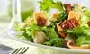 Menu Salades en 3 services