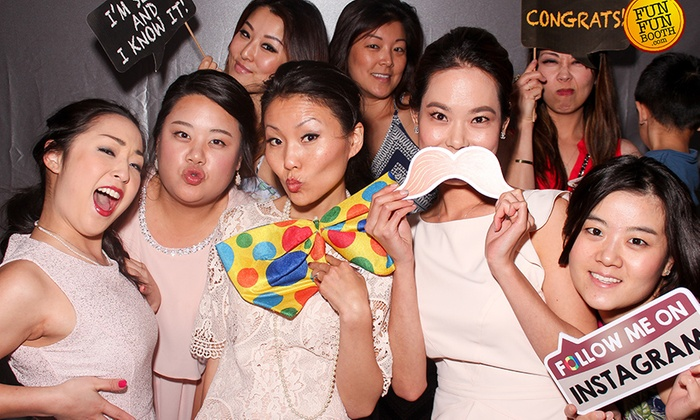 Funfun Booth - Los Angeles: $450 for $900 Worth of Photo-Booth Rental — FunFun Booth