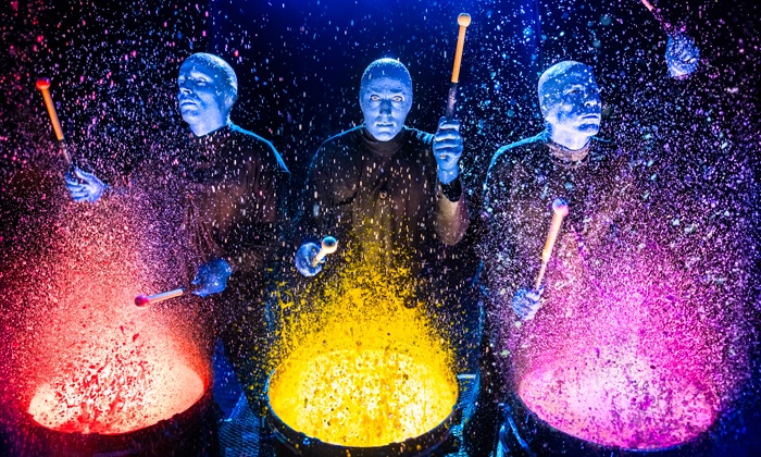 Blue Man Group - Astor Place Theatre: Blue Man Group on January 4–March 27