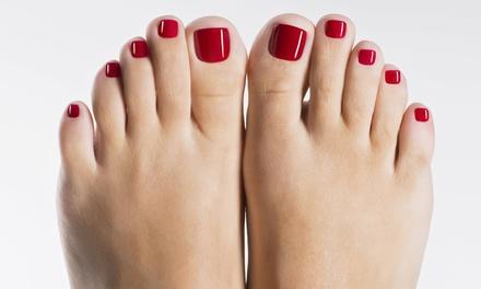 1x oder 2x 60 Min. kosmetische Fußpflege inkl. Fußreflexzonenmassage bei ethoschica Berlin (bis zu 50% sparen*)