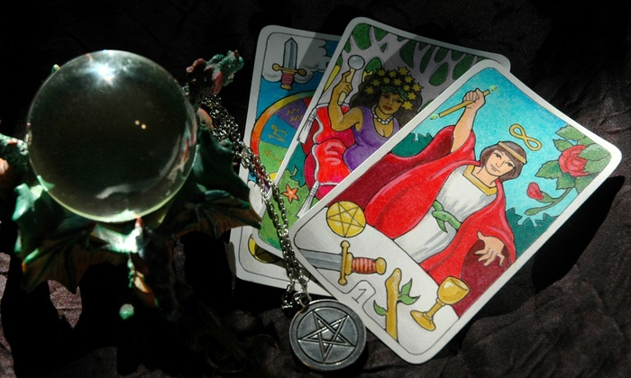 Highland Psychic - Hollywood: One or Two Palm and Tarot Card Readings or One Crystal Ball Reading at Highland Psychic (Up to 72% Off)