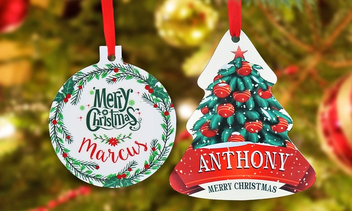 Monogram Online: $5 for a Personalized Family Ornament from Monogram Online ($19.99 Value)